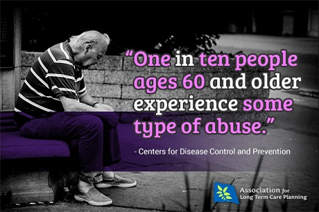 CDC reports 1 in 10 over 60 abused on an ALTCP.org graphic