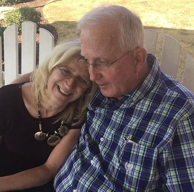Robert Bowles and Laurie Sherrer living with dementia