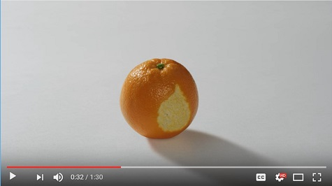 #SharetheOrange Alzheimer's Research UK Image only