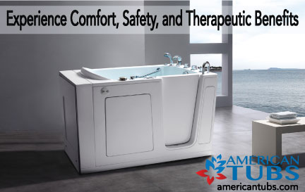 Walk-in Tub by American Tubs