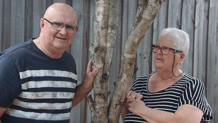 Mick Carmody and wife Sue