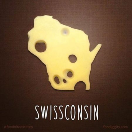 Swissconsin image The Chive #foodnitedstates