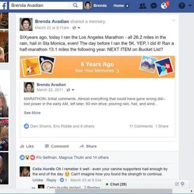 Facebook algorithms help us remember