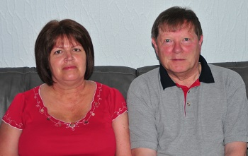 Caregiver, Maureen and husband James McKillop who lives with dementia