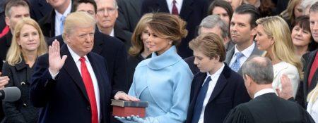 POTUS 45 Inauguration Whitehouse photo - TCV