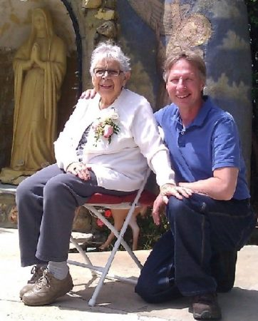 Liza Lopez 99th Birthday with David, Brenda Avadian's husband - TCV