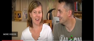 Rebecca Doig Pregnant with Alzheimer's Video Credit - todaytonight