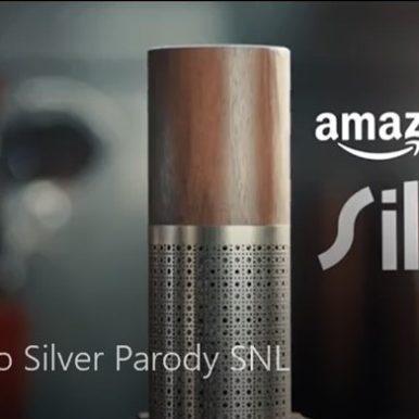 Amazon Echo Silver Parody Saturday Night Live (SNL)