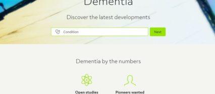 Antidote website Dementia screenshot 8-14-2017