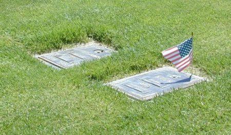 B Klink former caregiver grave marker