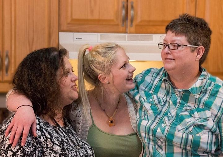 Dawn, Brianna, Mary Beth Wighton