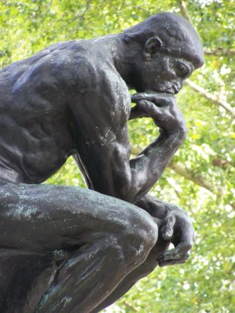 Rodin The Thinker Photo by Crystal Borde