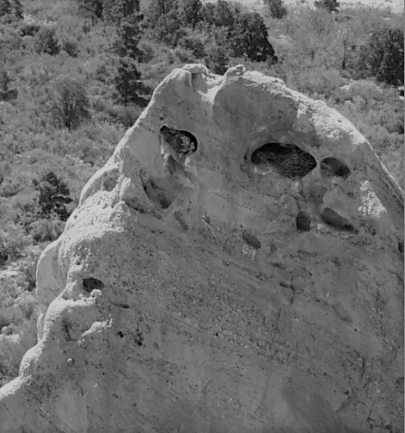 Jabba Eyes in Rock at Devil's Punchbowl Natural Area - Avadian photo