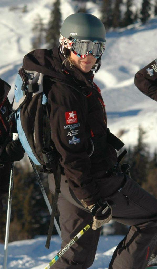 Becky Barletta Ski Instructor Switzerland - Photo Sylvia Gilbert