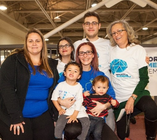 Phyllis Fehr - Family at Walk for Memories