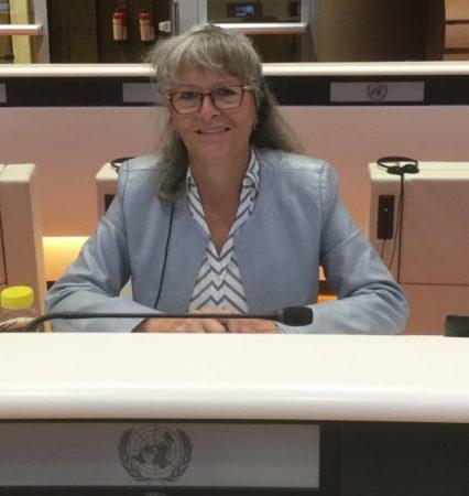 Phyllis Fehr - Speaking in Geneva