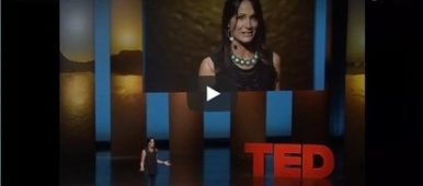 Screenshot of Linda Sivertsen's TED talk about Time Debt