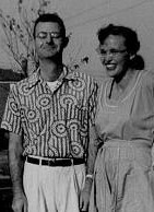 Louise Fusfeld's parents in their early years