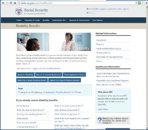 social security disability online application status